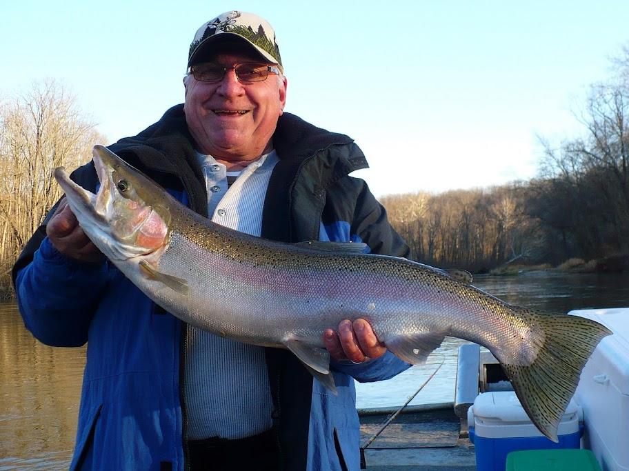 Muskegon River Steelhead Guide Trips