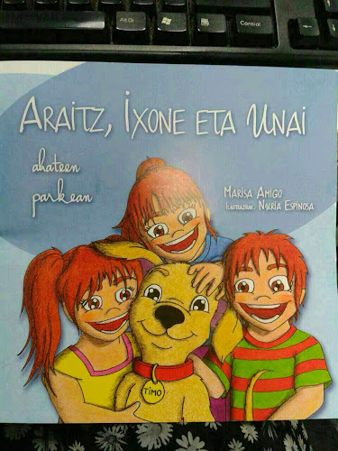 Libro a la venta cuyo precio (5 €) irá íntegramente para la Fundación San Filippo, que estudia la enfermedad infantil del mismo nombre