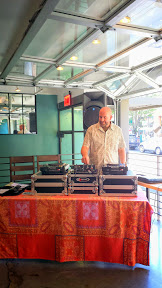 Mediterranean Exploration Company, DJ Waffle keeping the good music flowing during the launch party