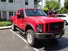 2008 Ford F-350 Diesel 6.4 twin turbo 4x4 Red with Black interior loaded