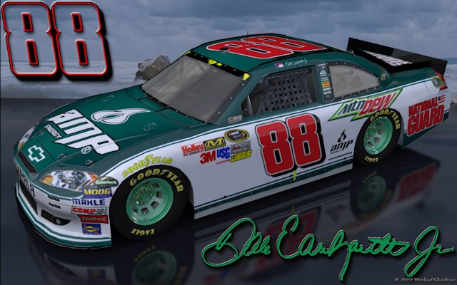 Dale Earnhardt Jr Amp Green 1 Outdoors Wallpaper