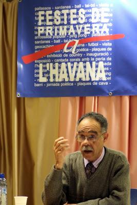 Manuel Cusachs a la conferència: L'Havana de Mataró, l'Havana de Cuba