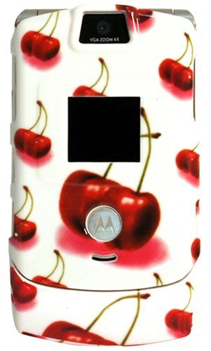 Motorola Razr V3 Cherry Plastic Clip on Cover