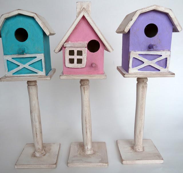 BH06 Shabby Birdhouses 20