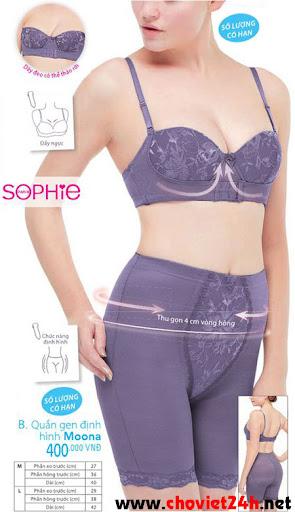Áo ngực Sophie Laxita