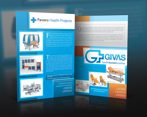 hospital equipment brochure