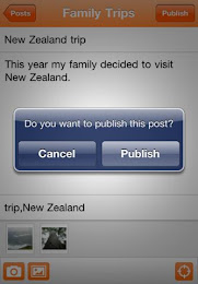 Blogger App Screenshots 02