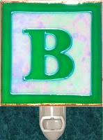 letter B Block
