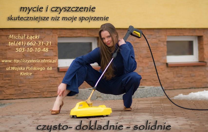czyszczenie kostki brukowej , elewacji , dachów Kielce