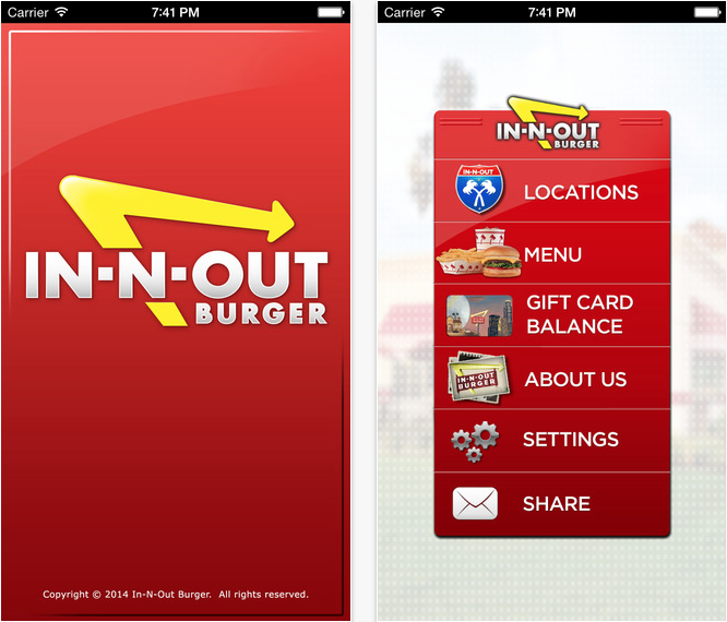 In-n-out Burger App (11 Best Apps to Make Life Easier Living in LA).