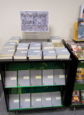 Persephone Books display