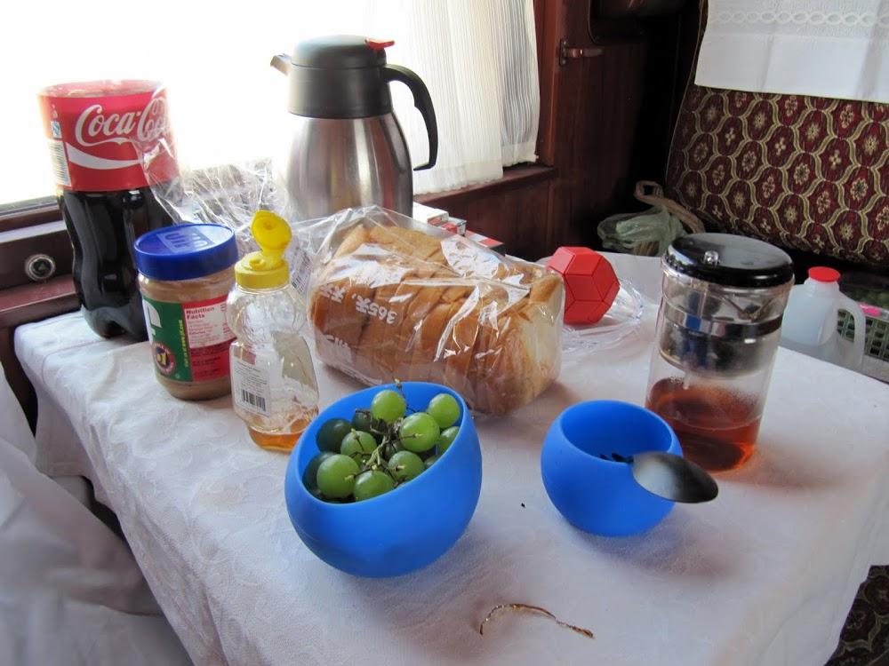 Food On The Trans-Siberian Railway