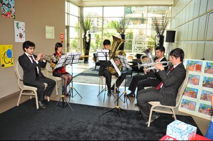 Quinteto de Metais da Banda Marcial do Vale