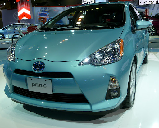 The Prius c Looks Better with New Wheels - The Truth About Tires | Tire Rack