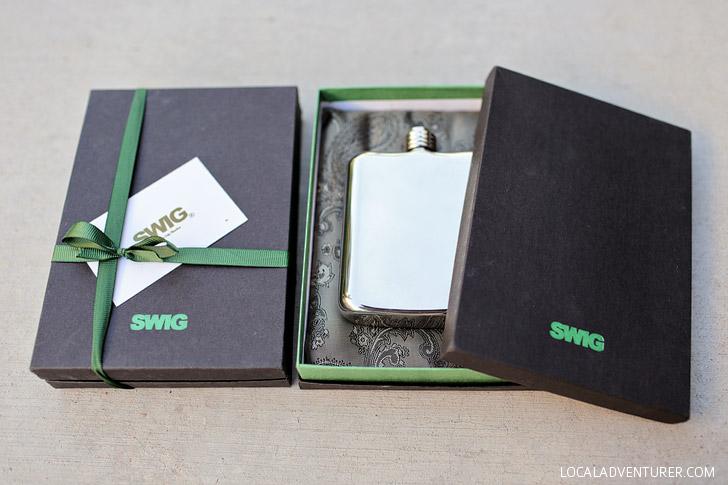 Swig Flask - Luxury Flasks for Men.