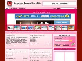 Web Hosting Template 3