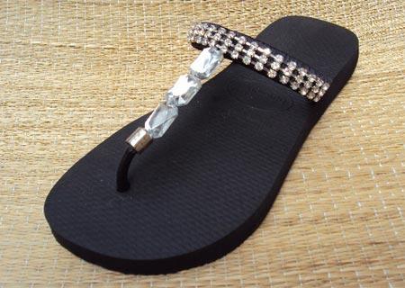 Customização de chinelos