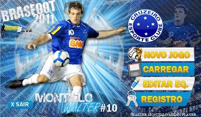 Skin Montillo - Cruzeiro - Brasfoot 2011