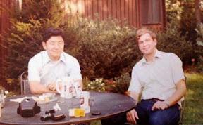 Ken Yoshitani and Dave Bodde around 1980