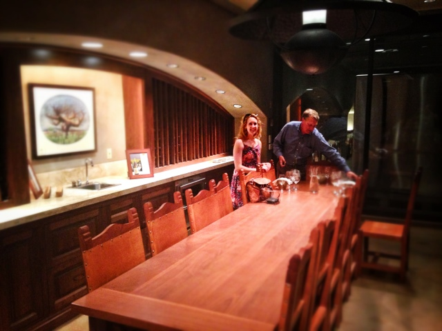 tasting room at Robert Mondavi
