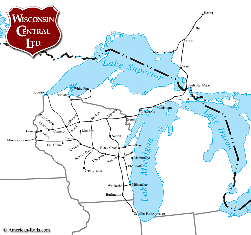 Central Wisconsin Road Map Submited Images
