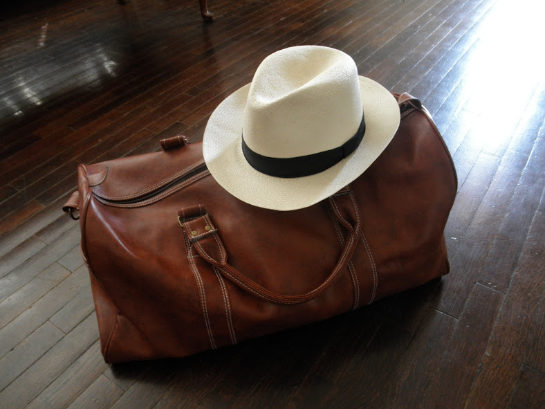 Packed my Panador Panama hat and ready for a summer road trip!