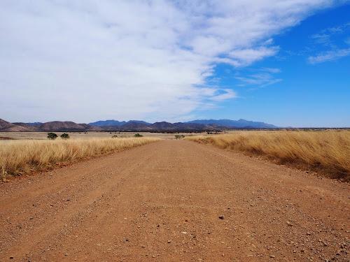 Looking north towards San Canelo Pass.