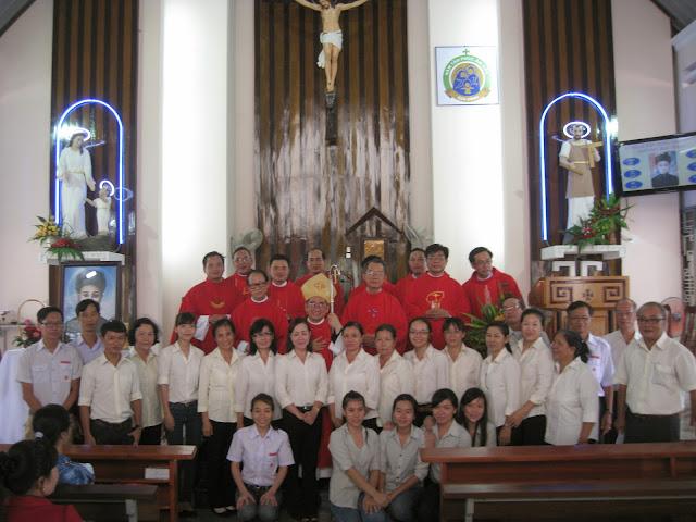 Giáo lý viên giáo hạt Nha Trang mừng lễ thánh Quan Thầy Phêrô Tự, thầy giảng, tử đạo