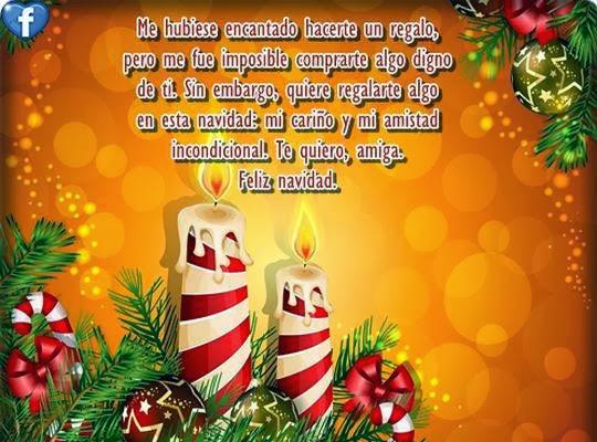 Mensajes con saludos navideños para amigos