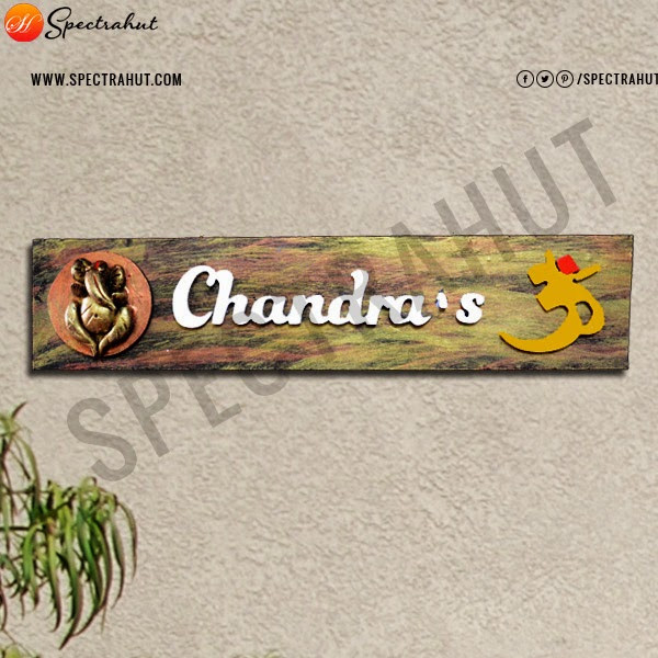 custom wooden name plates give your home a personalized name with decorative - Decorative Name Plates For Home