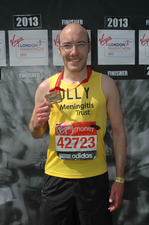 3:32:12 - London Marathon 2013 Finishers Photo