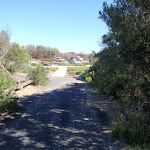 Freemans Camp path leading to Birdie Beach carpark (250921)