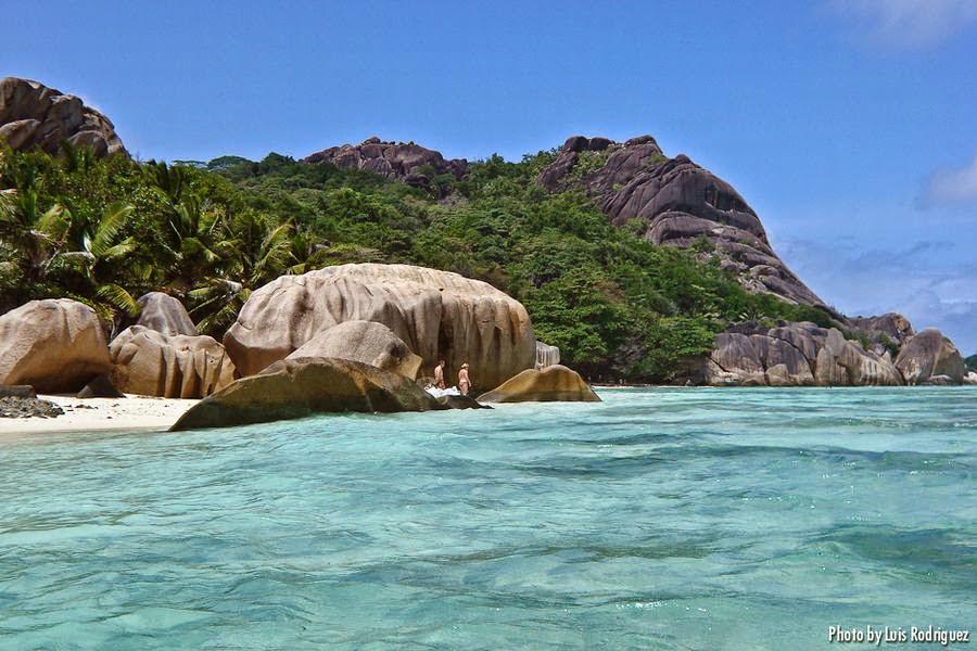 Playa de Anse Source d'Argent, La Digue, Seychelles, otra de las maravillas naturales del mundo