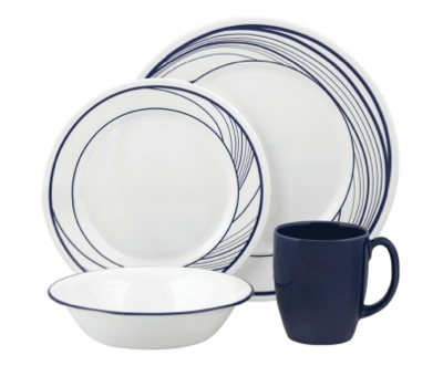 RM 380  sc 1 st  About Lifestyle - Blogger & All About Lifestyle: Corelle Vive Flo 16-Pc Dinner Set