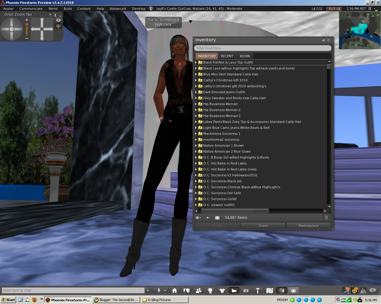 The Virtual World Technologist: SecondLife Viewer2