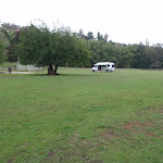 Large open areas and a campervan