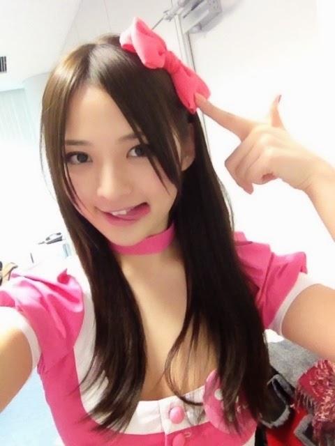 髪の毛が長かった頃の鈴木咲さん