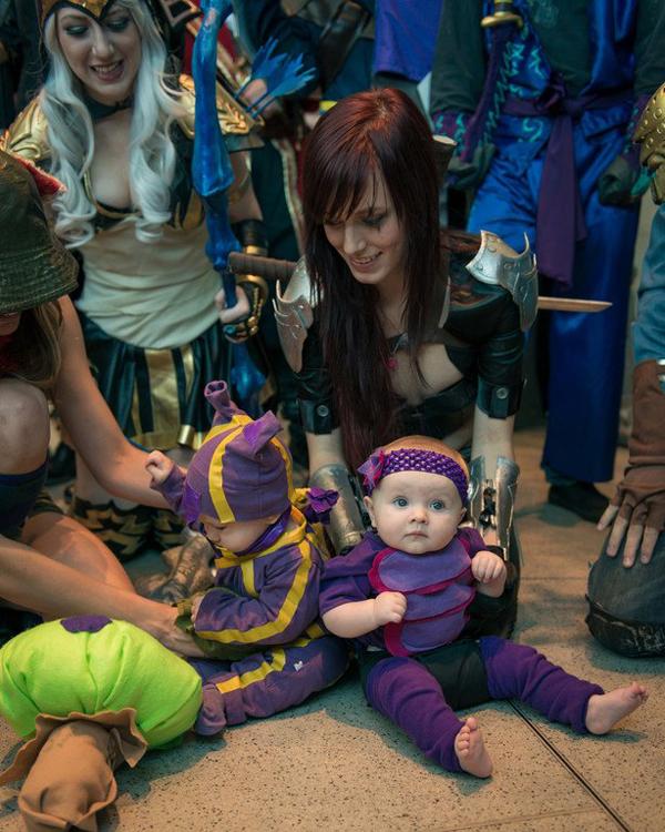 Missyeru và cosplay Ashe tuyệt đẹp tại Pax Prime 2012 - Ảnh 12
