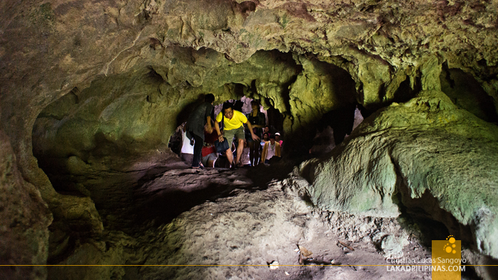 Going Out at Hoyop-Hoyopan Cave in Camalig, Albay