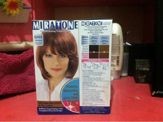 ♥ Review   Miratone Conditioning Creme Color 6MA ( Mahogany ... b4295e8270