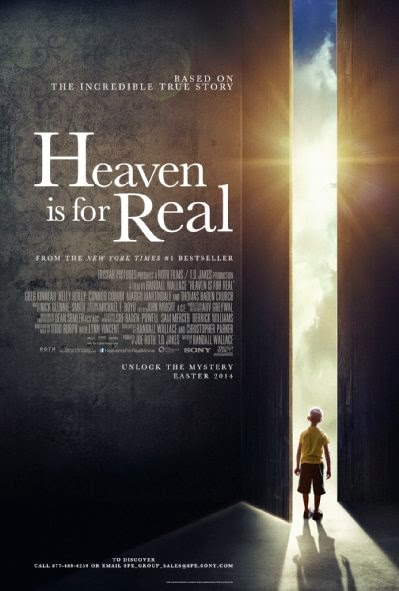 Poster Of English Movie Heaven Is for Real (2014) Free Download Full New Hollywood Movie Watch Online At alldownloads4u.com