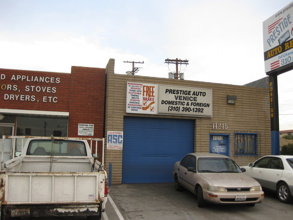 Auto Repair Los Angeles | Prestige Auto Venice at 11215 Venice Blvd, Los Angeles, CA