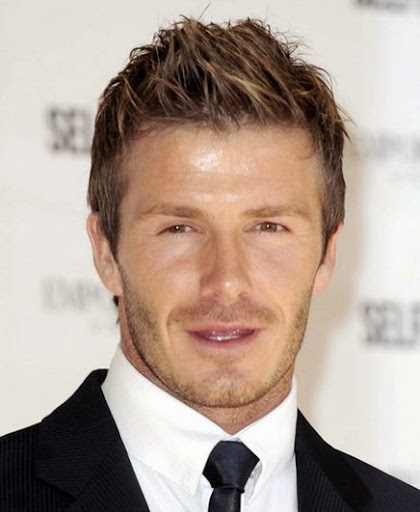 Phenomenal 20 Beautiful Pictures Of David Beckham Hairstyles Celebrity Hairstyles For Women Draintrainus