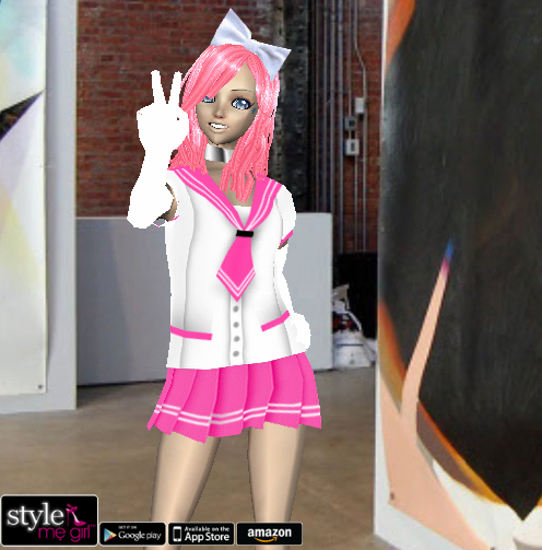 Style Me Girl Level 4 - Aoi - Anime - Fuller view