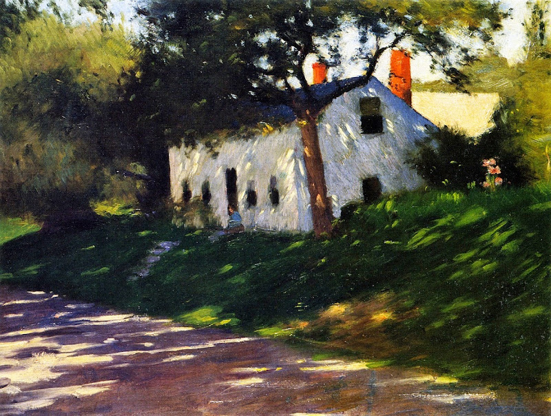 Dennis Miller Bunker - Roadside Cottage, Medfield, Mass