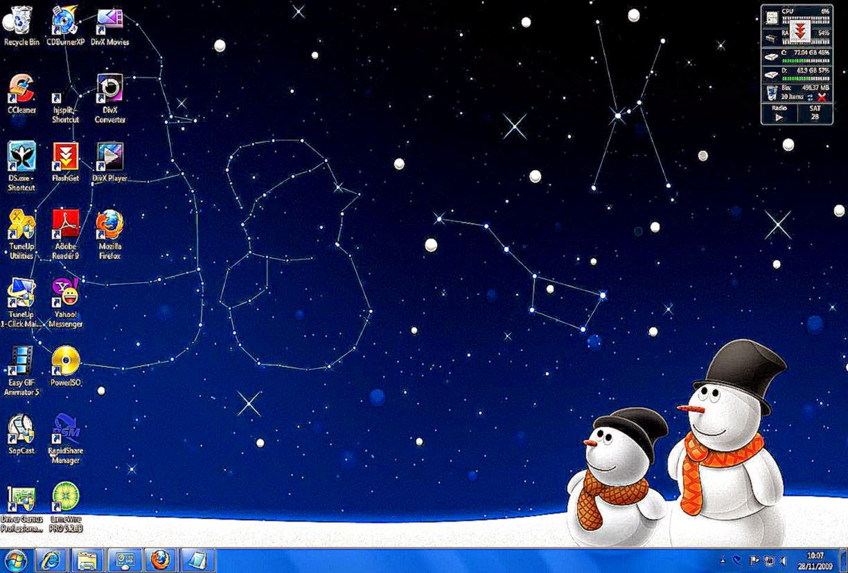 windows 7 christmas desktop themes | best free hd wallpaper