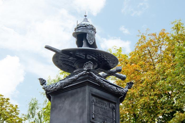 Памятник на месте отдыха Петра 1, InGreen, Полтава