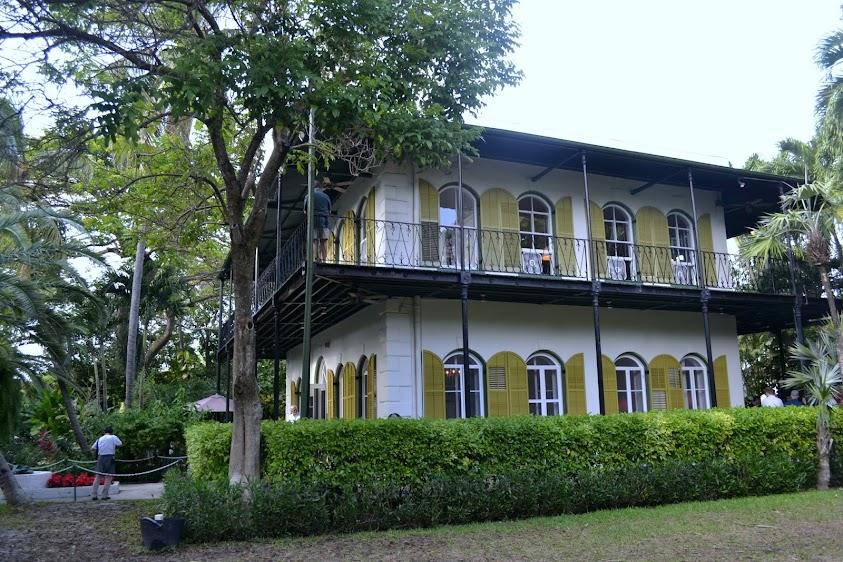 Ки-Уэст, Флорида: Дом Эрнеста Хемингуэя (Ernest Hemingway House, Key West, Florida)