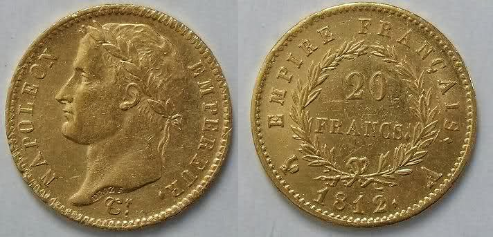 coin with laurel wreath
