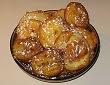 Beignets aux pommes, poires, ananas ou bananes